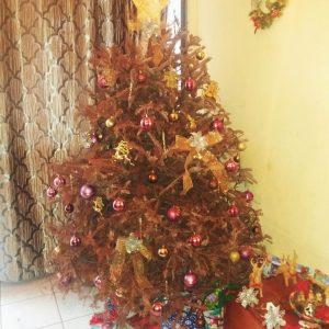 Decoración navideña de bajo costo
