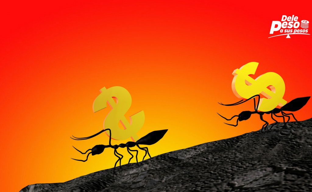 cómo controlar los gastos hormiga